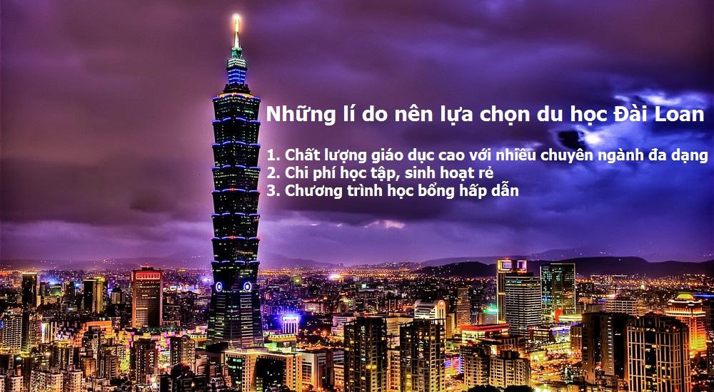 Những điều cần biết về du học Đài Loan 2019