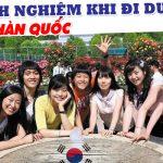 Kinh nghiệm du học Hàn Quốc 2019