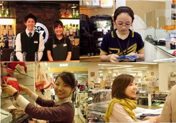 Sinh viên làm thêm tại Nhật Bản