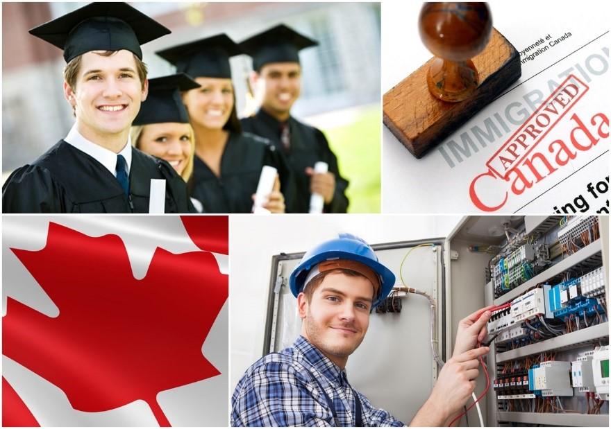 Việc làm và định cư Canada cho nhiều bạn trẻ