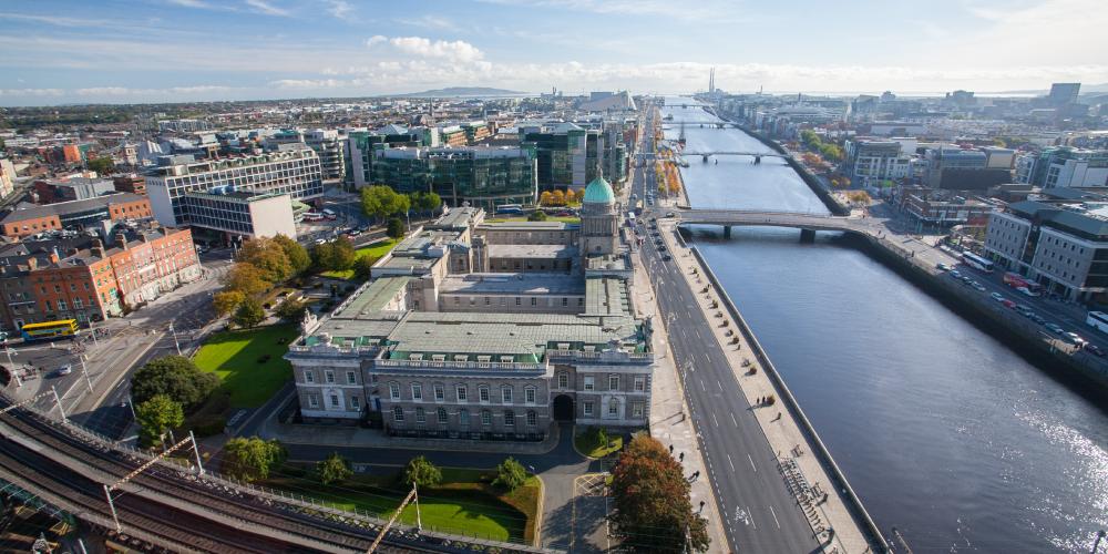 Du học Ireland ở đâu?