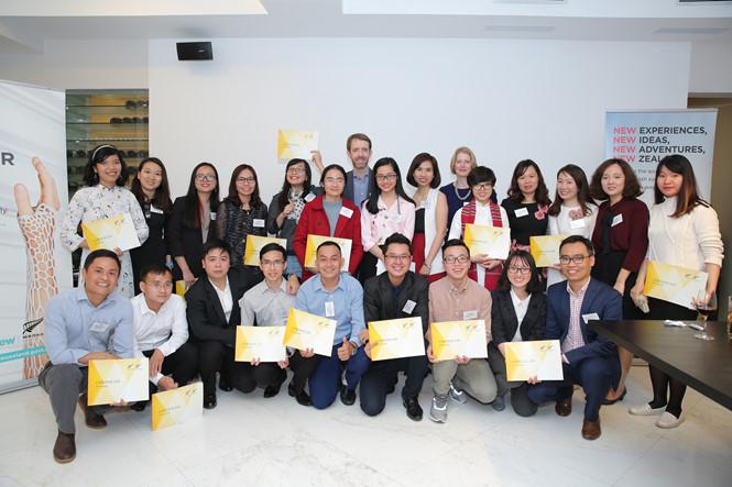 Sinh viên nhận học bổng từ Chính phủ New Zealand