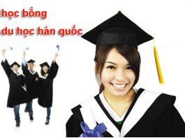 Học bổng du học Hàn Quốc 2019
