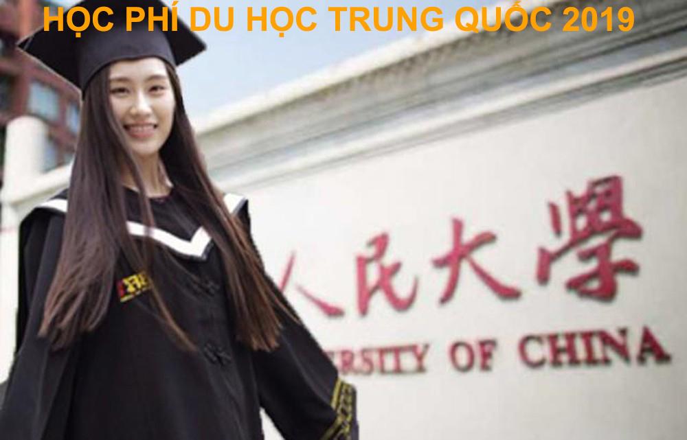 Học phí du học Trung Quốc 2019 là bao nhiêu?