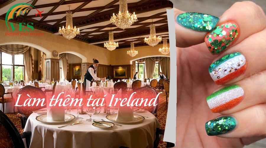 Làm thêm gì tại Ireland 2019?