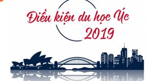 Điều kiện du học ÚC 2019