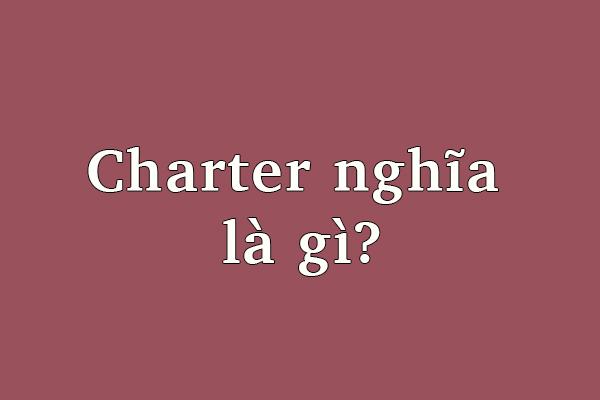 Charter School Là Gì