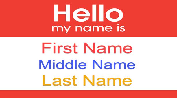 Định nghĩa Last name