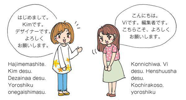 Giới thiệu bản thân bằng tiếng Nhật