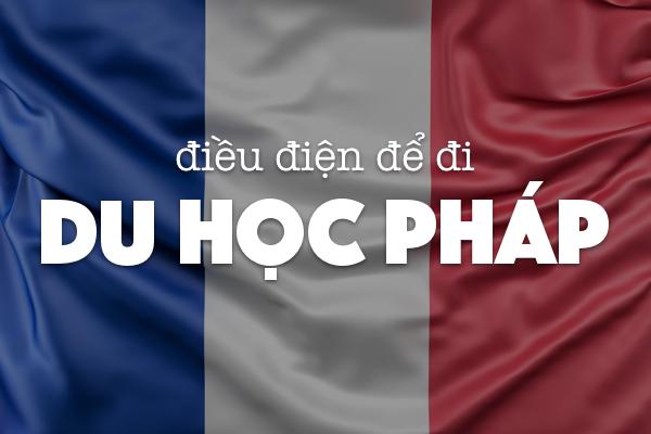 Điều kiện du học Pháp 2020